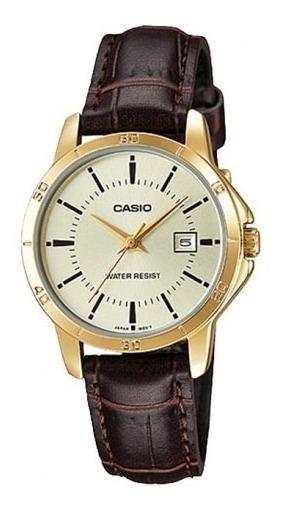 Relógio Casio Feminino Ltp-v004gl-9audf