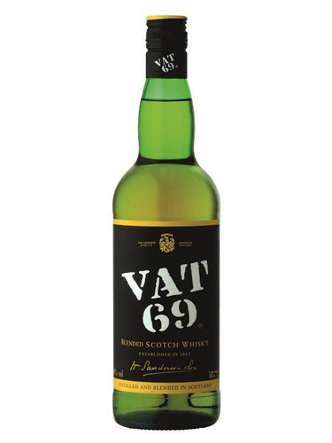 Whisky Vat 69 - Escocia