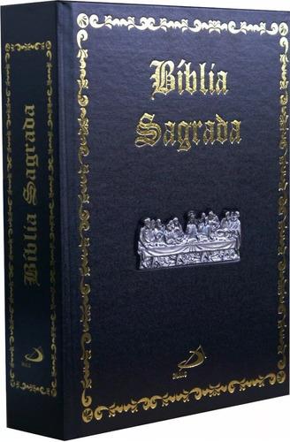 Bíblia Sagrada Ilustrada Luxo Edição Pastoral Santa Ceia