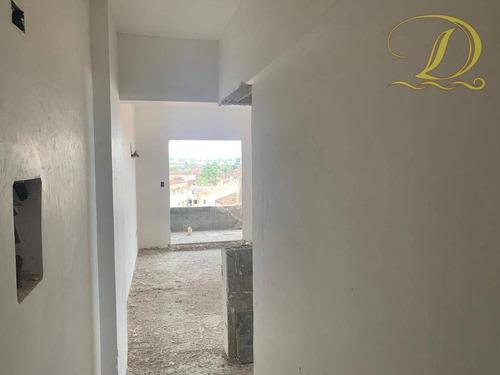 Imagem 1 de 12 de Apartamento Com 1 Dormitório À Venda, 55 M² Por R$ 199.000 - Jardim Real - Praia Grande/sp - Ap4474