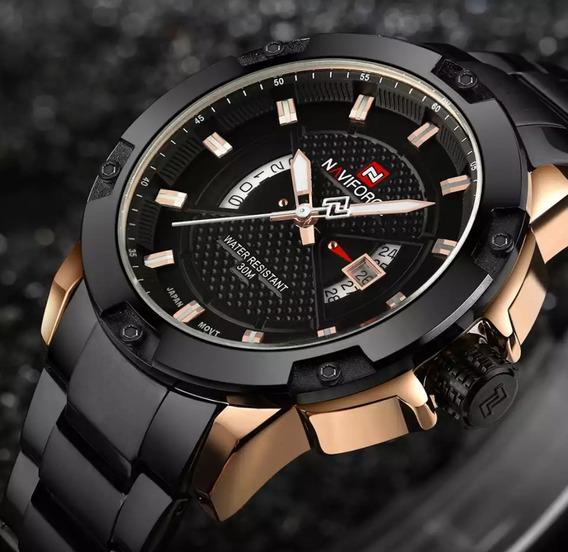 Relógio Masculino Naviforce Para Homens De Bom Gosto