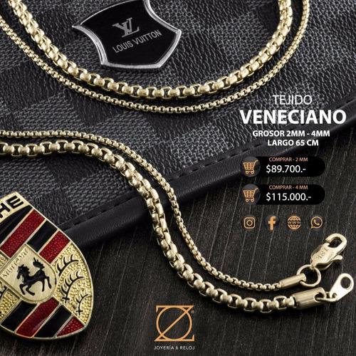 055b00622b24 Gargantilla De Hombre Tejido Veneciana Zo Joyeria Y Reloj