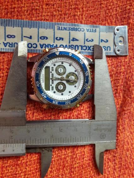 Relógio Antigo Citizen Promaster C110 Leia A Descrição