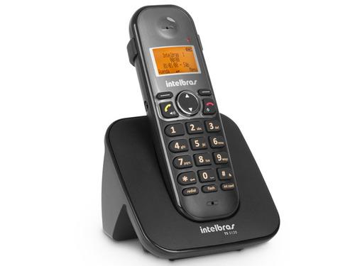 Telefones Sem Fio Intelbras Ts 5120 Preto Viva Voz/ Identif