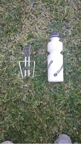 Botella De Agua + Soporte Para Bici