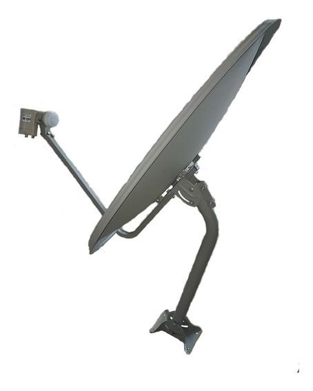 Antena Ku 75cm + Lnbf Duplo