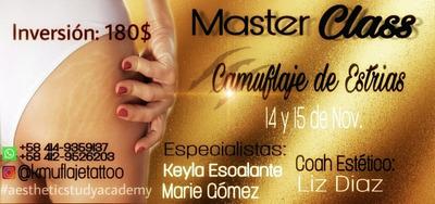 Master Class // Cursos Grupales Y Personalizados