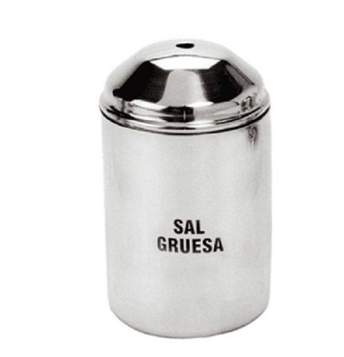 Salero Sal Gruesa 1 K. Aluminio, Acermel - Bazar Colucci