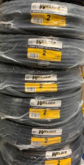 Cable Porta Electrodo Welder 100m Calibre 2
