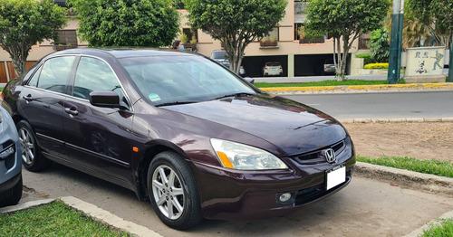 Honda Accord Ex V6 2003 Versión Tope De Línea