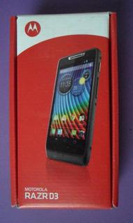 Caja Vacía Motorola Razr D3 Muy Buen Estado