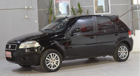 Fiat Palio 1.4 8v Elx Con Gnc 2009 5 Puertas Color Negro