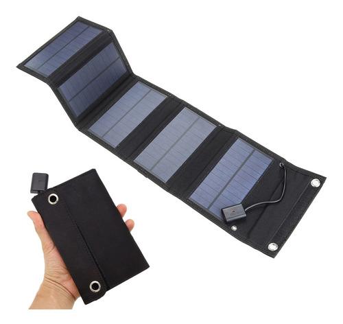 Imagem 1 de 9 de 5v 15w Usb Carregador Solar Portátil Célula Impermeável