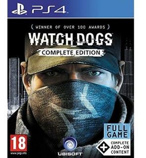 Watch Dogs Complete Edition Ps4 Nuevo Sellado