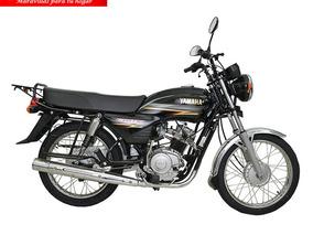 Moto Yamaha Yd110-1 Año 2018 110cc Negro
