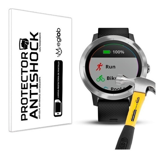 Lamina Protector Pantalla Anti-shock Garmin Vivoactive 3 Gps