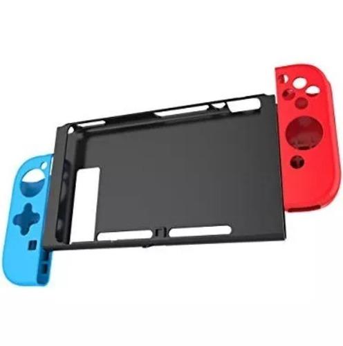 Accesorios Juegos Nintendo Switch Silicona Protectora Joycon