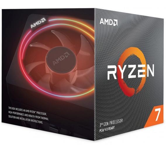 Processador Amd Ryzen 7 3800x 3.9ghz (4.5ghz Turbo) Wraith