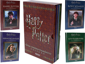 Box Harry Potter Guia Cinematográfico Coleção 4 Livros Novos