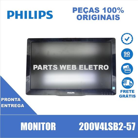 Monitor Philips 200v4lsb2-57 Apenas Monitor (cód. 12001)
