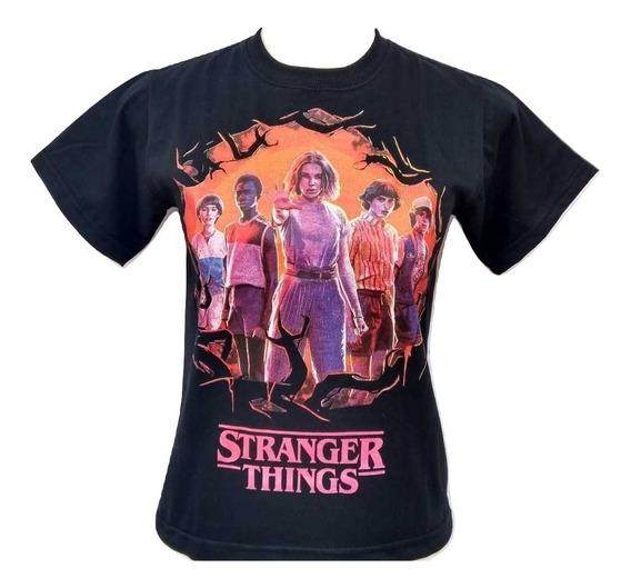 Camisa Camiseta Stranger Things Filme Netflix