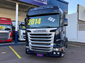 Scania R 440 Highline 6x4 Ano 2014