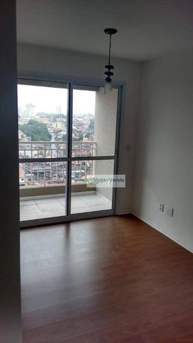 Imagem 1 de 14 de Apartamento Com 2 Dormitórios, No Condomínio Fatto Passion, Lazer Completo À Venda Na Vila Augusta, 51 M² Por R$ 260.000 - Vila Augusta - Guarulhos/sp - Ap0196
