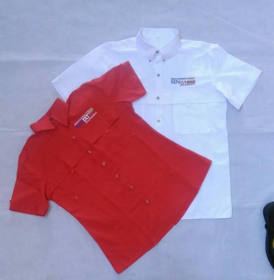Camisas Tipo Columbia Uniformes