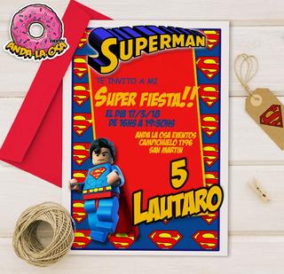 Tarjetas De Cumpleaños De Superman En Mercado Libre Argentina