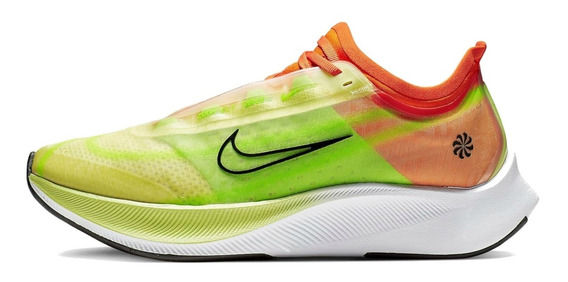 Tenis Nike Zoom Fly 3 Rise Correr Competencia Pegasus Vapor