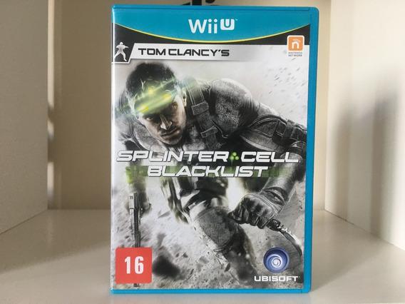 Splinter Cell Blacklist - Wii U -mídia Física - Em Português
