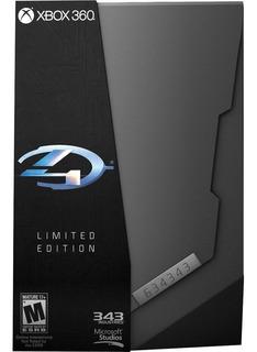 Halo 4 Edicion Limitada Nuevo Xbox 360 Blakhelmet E