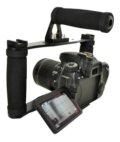 Estabilizador Cage Gaiola Canon Nikon Sony Ect Modelo 02
