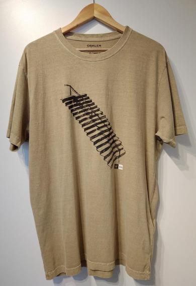 Tshirt Osklen Stone Stairs 6093917g - Caqui