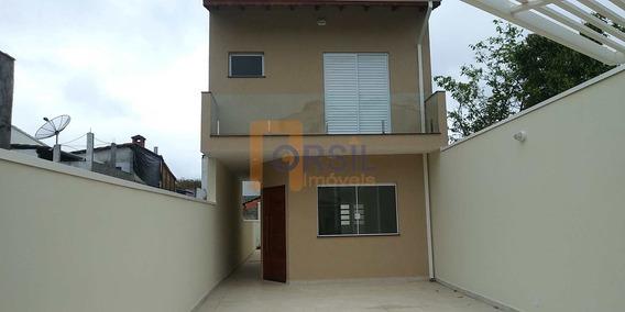 Sobrado De Condomínio Com 3 Dorms, Jardim Rubi, Mogi Das Cruzes - R$ 480 Mil, Cod: 1558 - V1558