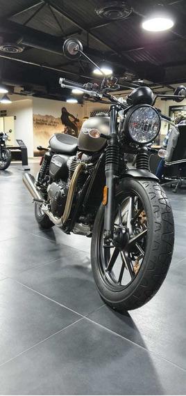 Triumph Street Twin Matte Iron Stone - 2020