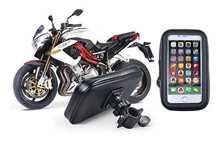 Base Holder Estuche Impermeable Para Moto / Bici