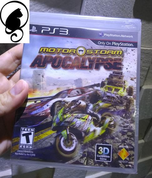 Motorstorm Apocalypse Ps3 Playstation 3 Original Lacrado Motor Storm