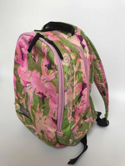 Mini Mochila Nike Diseño Flores Y Hojas