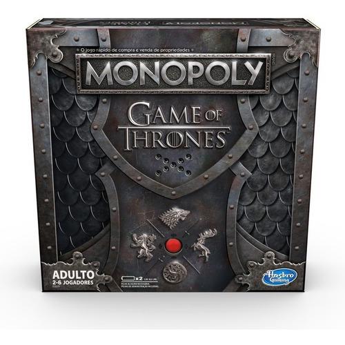Imagen 1 de 1 de Juego De Mesa Monopoly Game Of Thrones