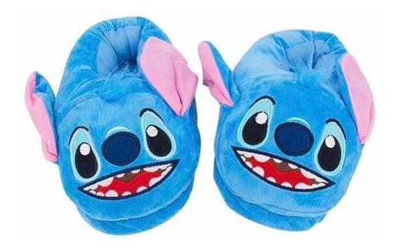 Pantuflas De Stitch - Varios Talles || Nenas - Moda Invierno