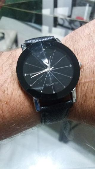 Relógio Quartz Preto