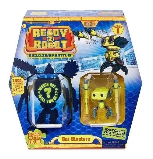 Ready 2- Robô Blasters Com Slime Robô Amarelo Candide 2201