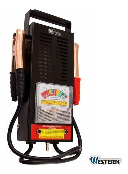 Testador Baterias E Alternadores Automotivo 6 E 12v Western