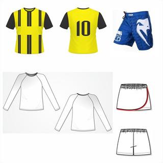 Kit 3 Moldes De Roupas A Sua Escolha. Camisas, Calças, Etc