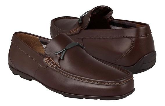 Zapatos Casuales Para Caballero Flexi 68616 Café