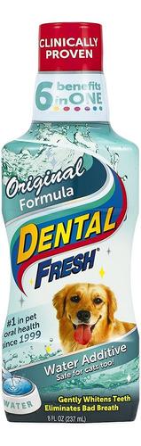 Dental Fresh - Aditivo De Agua Dulce Dental Para Mascotas, C