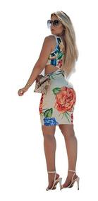 Vestido Feminino Justo Colado Festa Bojo Blogueira Moda
