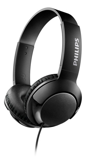 Headphone Philips Shl3075bk/00 Mic P2 Preto