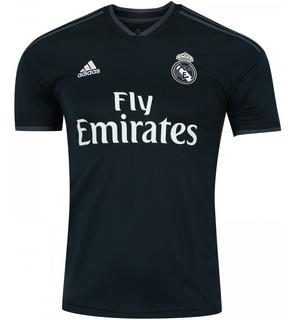 Camisa Real Madrid 2 Visitante 18/19 adidas + Frete Grátis
